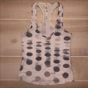 Lululemon Polka Dot Tank Top